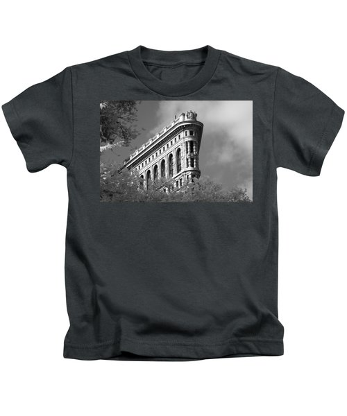 New York City - Flat Iron Prow Kids T-Shirt