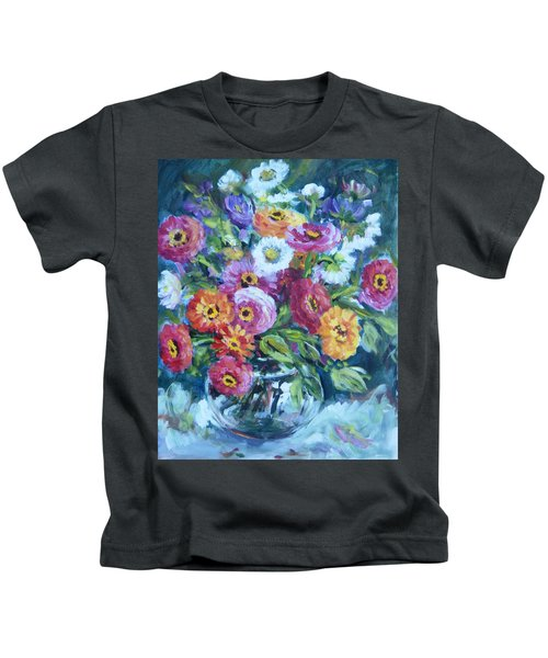 Floral Explosion No. 2 Kids T-Shirt