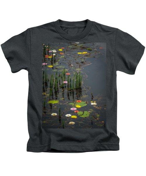 Flowers In The Markree Castle Moat Kids T-Shirt
