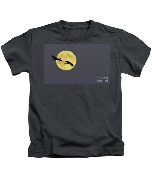Moonlight Flight Kids T-Shirt