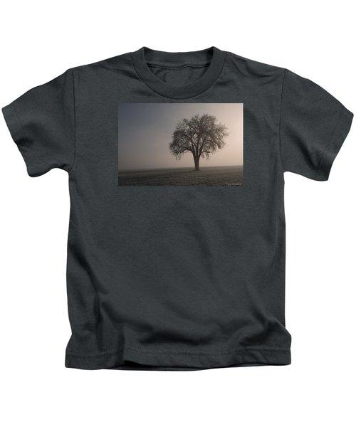 Foggy Morning Sunshine Kids T-Shirt