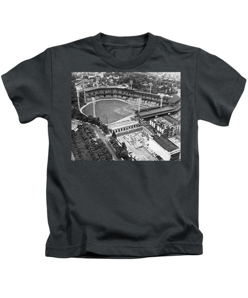 Forbes Field In Pittsburgh Kids T-Shirt
