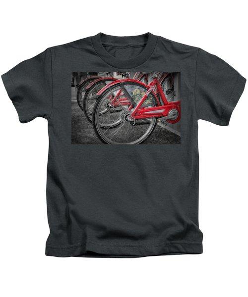 Fort Worth Bikes Kids T-Shirt