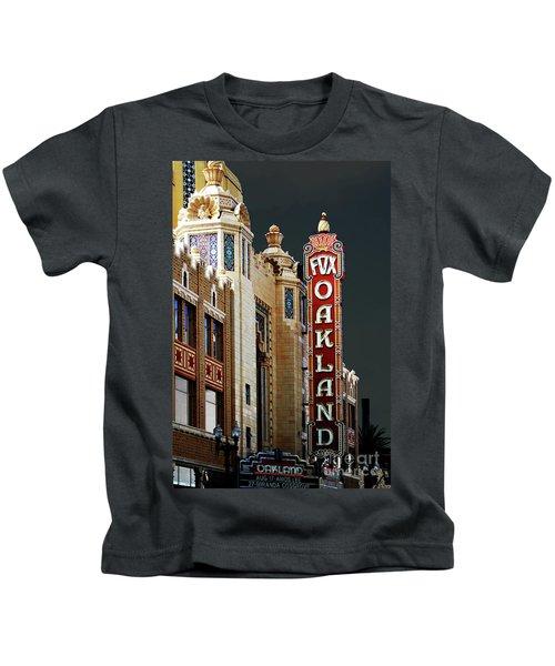 Fox Theater . Oakland California Kids T-Shirt