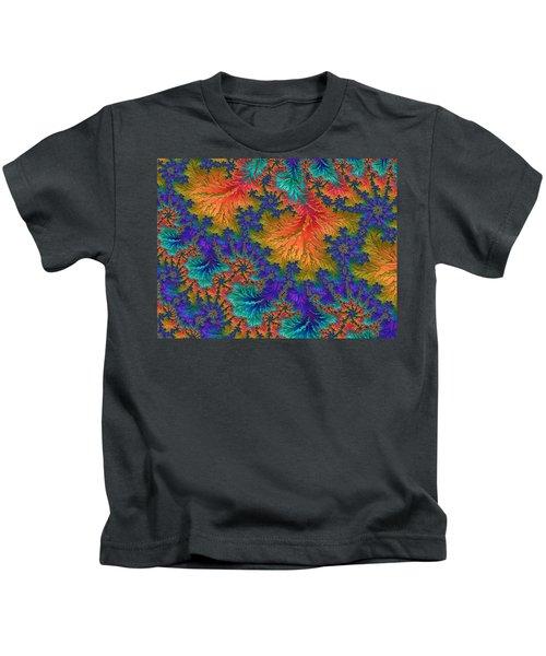 Fractal Jewels Series - Jubilation Kids T-Shirt