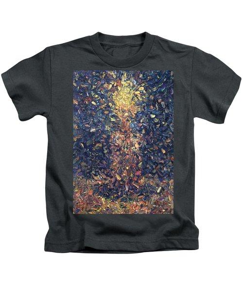 Fragmented Flame Kids T-Shirt