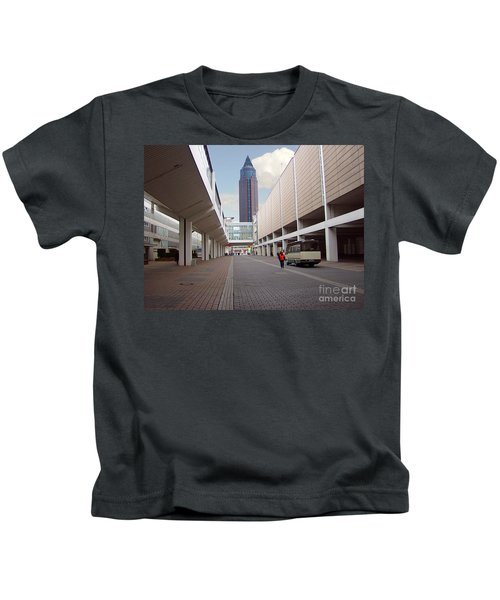 Frankfurter Messe Turm Kids T-Shirt