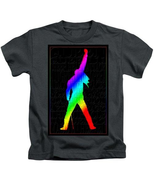 Freddie Mercury 2 Kids T-Shirt