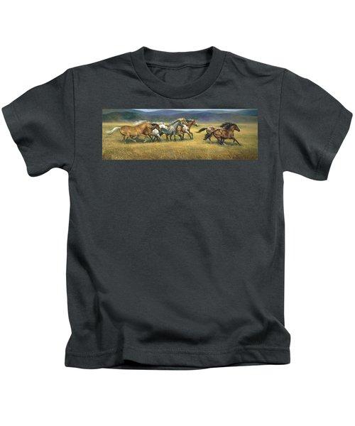 Free And Wild Kids T-Shirt