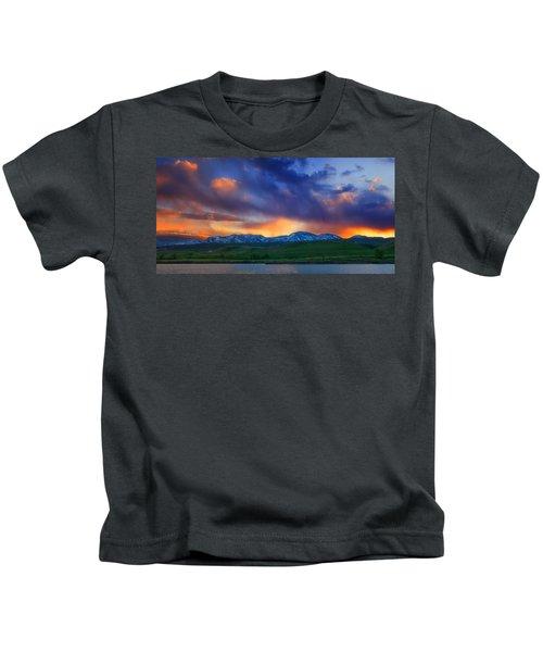 Front Range Light Show Kids T-Shirt