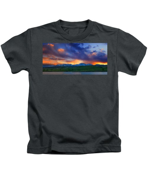 Front Range Light Show Kids T-Shirt