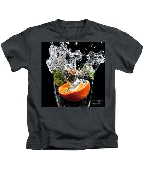 Fruit Drop With Big Splash Kids T-Shirt