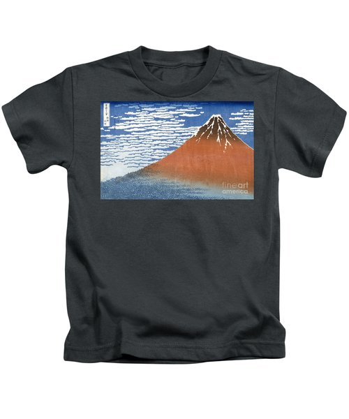 Fuji Mountains In Clear Weather Kids T-Shirt