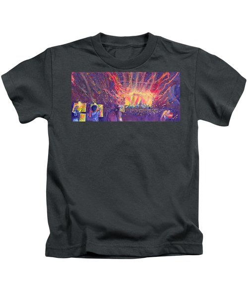 Galactic At Arise Music Festival Kids T-Shirt