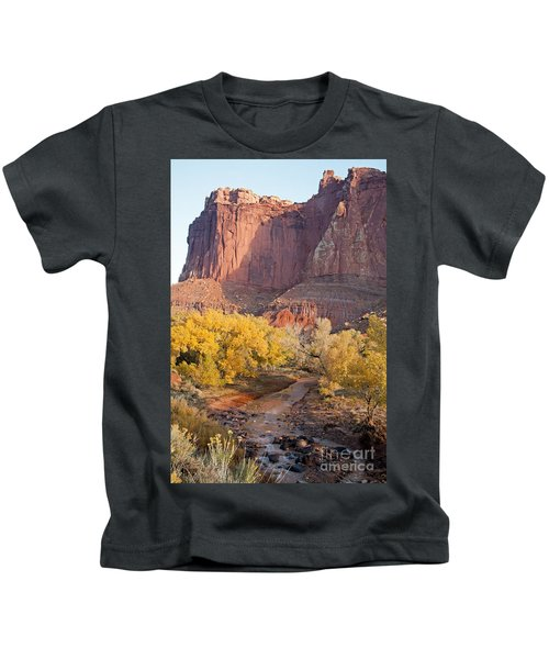 Gifford Farm Capitol Reef National Park Kids T-Shirt