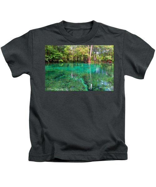 Ginnie Spring Along The Santa Fe Kids T-Shirt