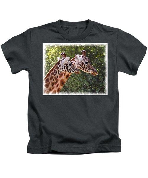 Giraffe 03 Kids T-Shirt