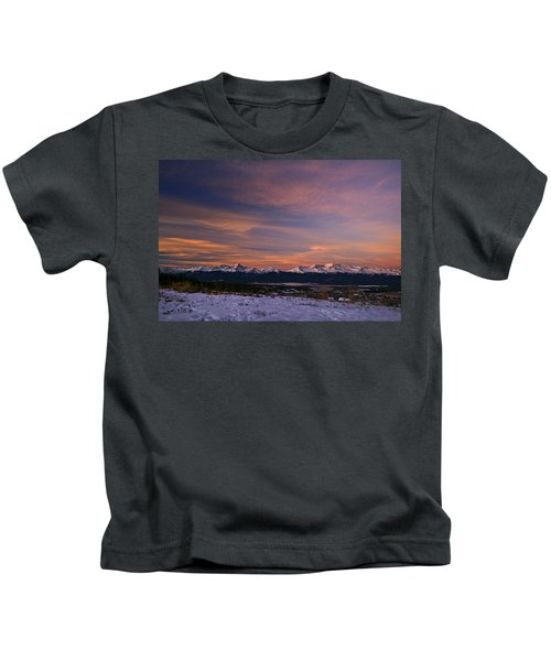 Glow Of Morning Kids T-Shirt