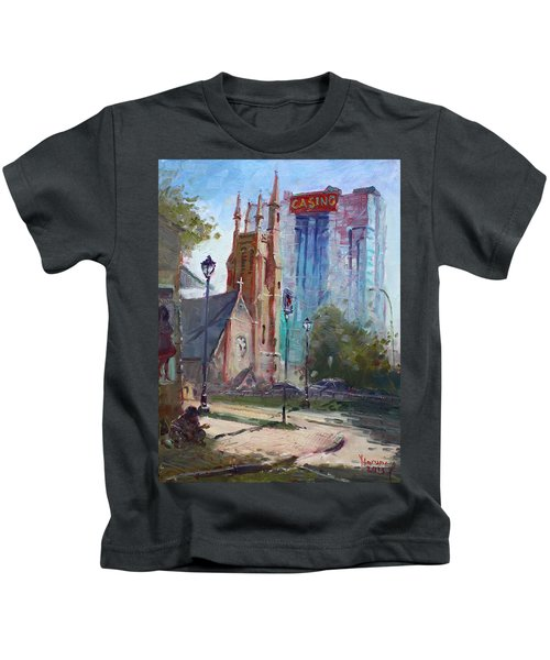 God And The Devil And I Kids T-Shirt