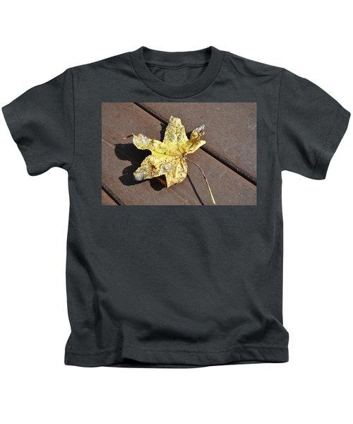 Gold Leaf Kids T-Shirt