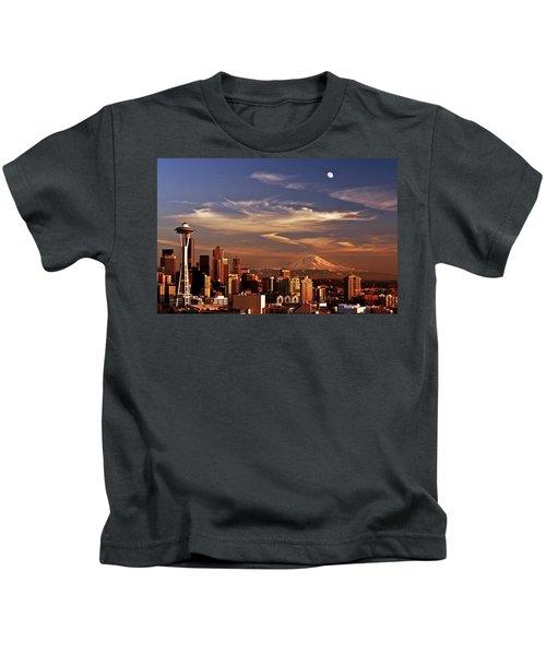 Golden Seattle Kids T-Shirt