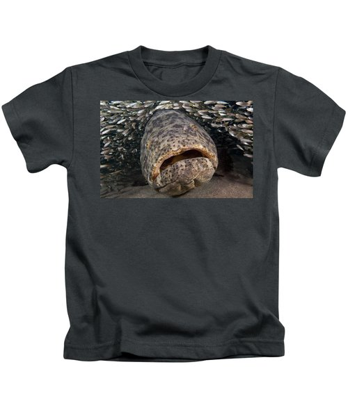 Goliath Grouper Kids T-Shirt