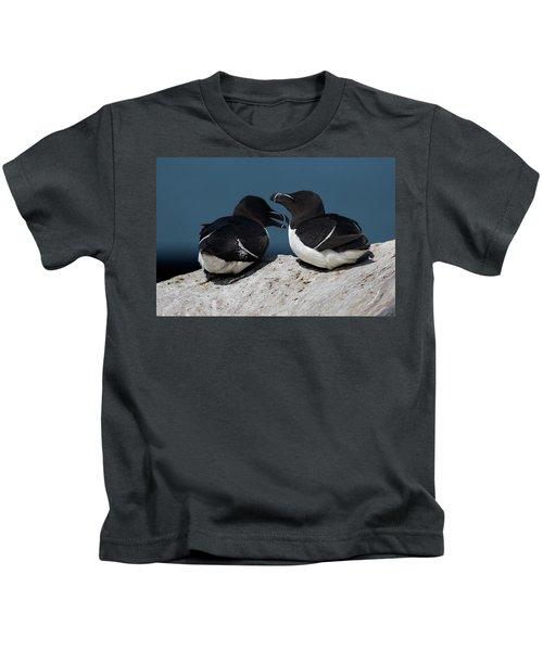 Gossip Mongers Kids T-Shirt by Brent L Ander