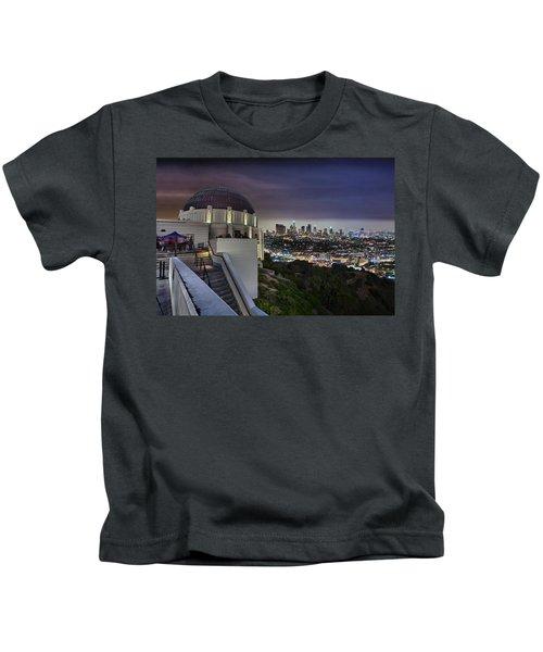 Gotham Griffith Observatory Kids T-Shirt