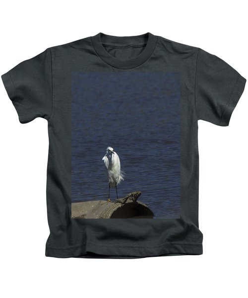 Great Egret Kids T-Shirt