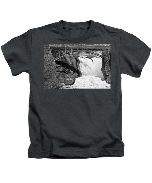 Great Falls In Paterson Nj Kids T-Shirt