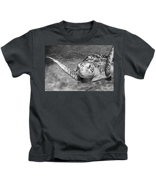 Green Sea Turtle. Kids T-Shirt