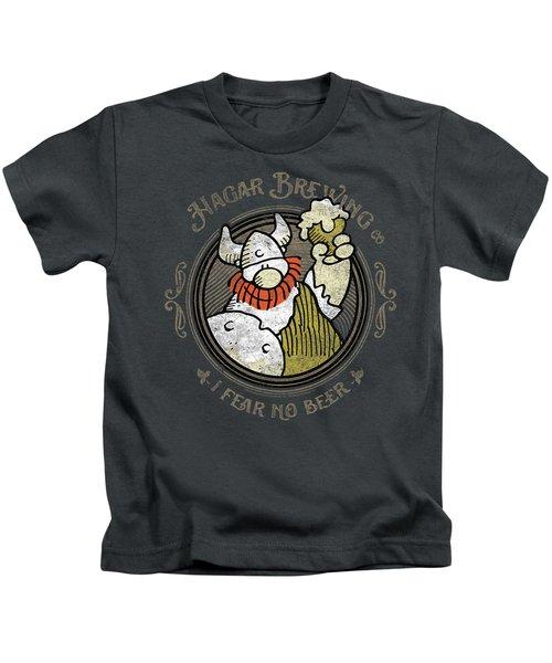 Hagar The Horrible - Hagar Brewing Kids T-Shirt
