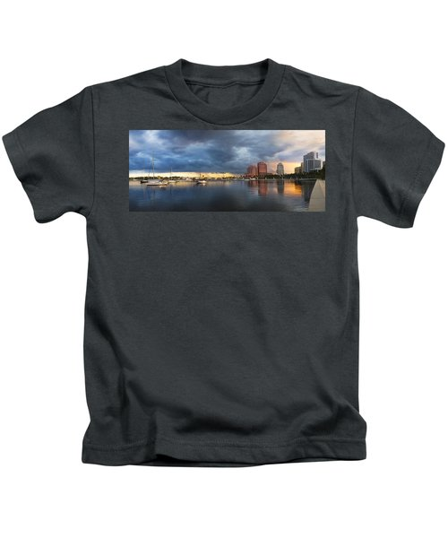 Harbor At West Palm Beach Kids T-Shirt