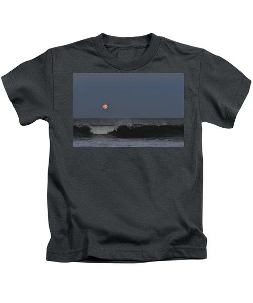 Harvest Moon Seaside Park Nj Kids T-Shirt