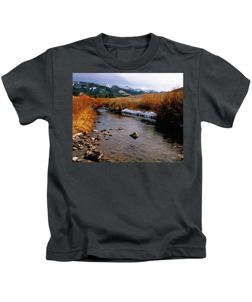 Headwaters Of The River Of No Return Kids T-Shirt