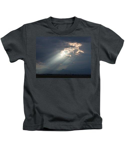 Heavenly Rays Kids T-Shirt