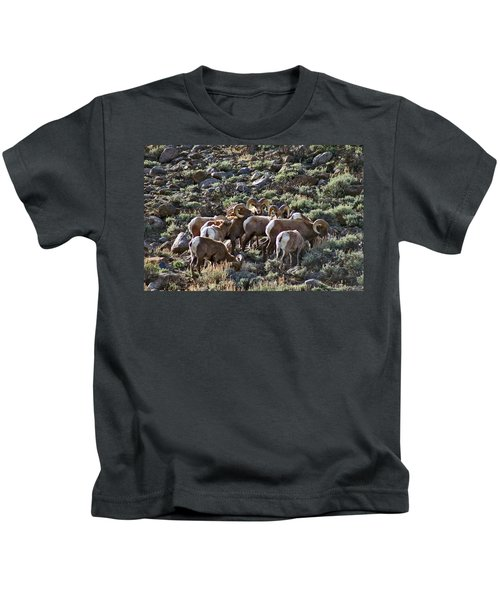 Herd Of Horns Kids T-Shirt