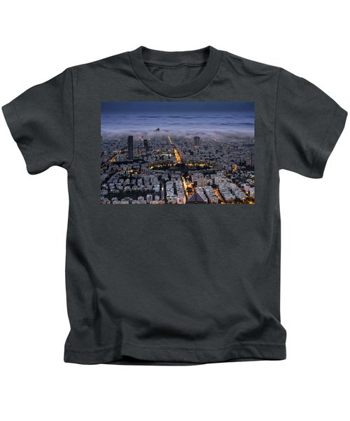 Here Comes The Fog  Kids T-Shirt
