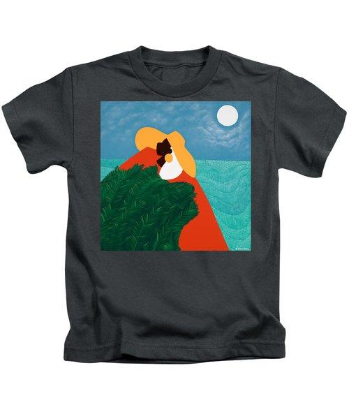 High Priestess Haiti Kids T-Shirt