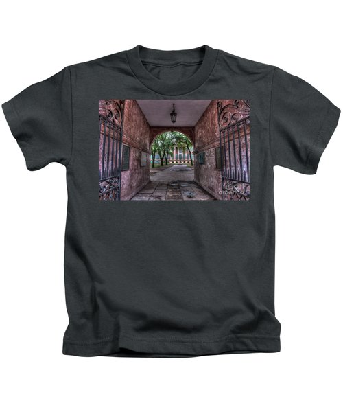 Higher Education Tunnel Kids T-Shirt