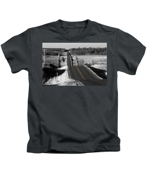Hilly Ride Kids T-Shirt