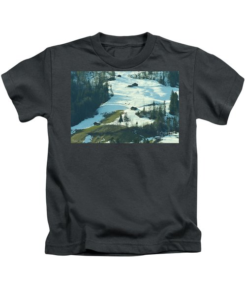 Holiday In Snow Kids T-Shirt