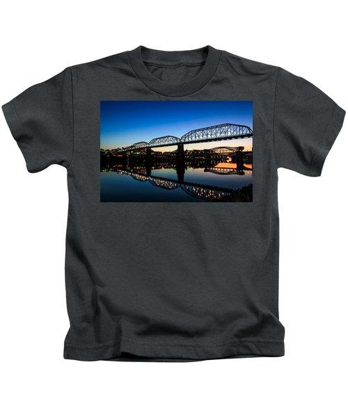 Holiday Lights Chattanooga Kids T-Shirt