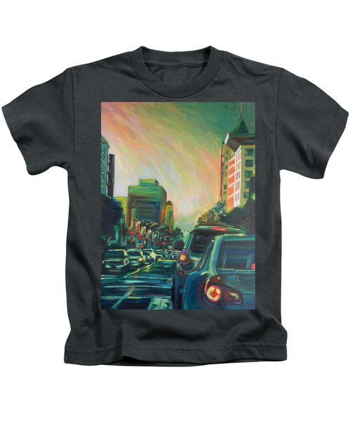 Hollywood Sunshower Kids T-Shirt