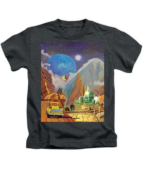 Honeymoon In Oz Kids T-Shirt