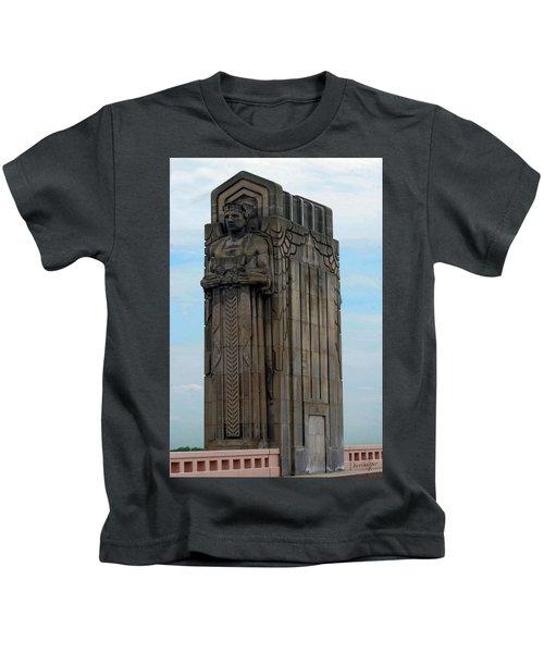 Hope Memorial Bridge Guardian Kids T-Shirt