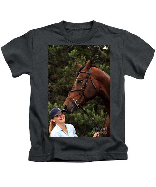 Horsie Nudge Kids T-Shirt