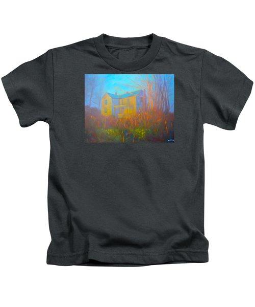 House In Blacksburg Kids T-Shirt