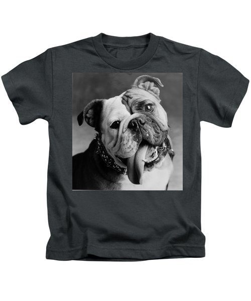 Kids T-Shirt featuring the photograph Huh by Jill Reger