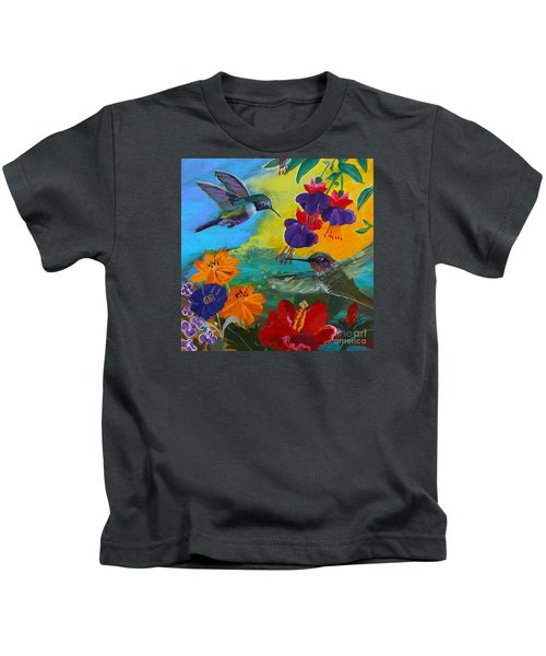 Hummingbirds Prayer Warriors Kids T-Shirt